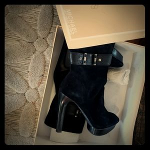 Mk booties from poshmart